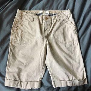 OLD NAVY midrise Bermuda shorts GUC